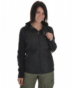 Orage Lucy Fleece Top Black