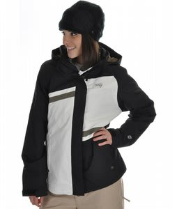 Orage Beth Ski Jacket Black/White