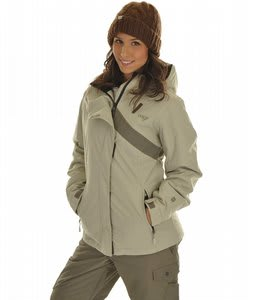 Orage Benita Ski Jacket Earthstone/Light Earth