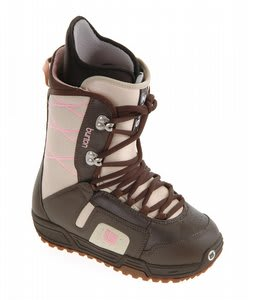 Burton Moto Snowboard Boots Brown/Pink