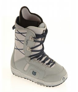 Burton Moto Snowboard Boots Grey/Navy
