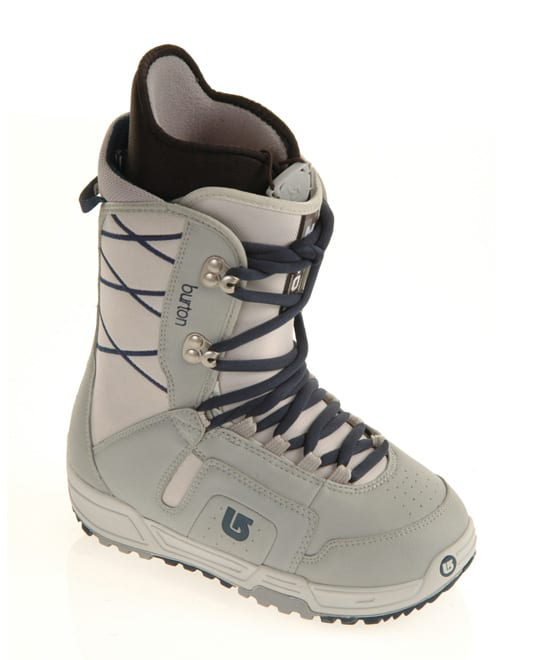 Shop for Burton Moto Snowboard Boots Grey/Navy - Women's
