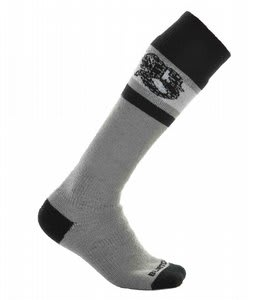 Burton Emblem Socks Granite