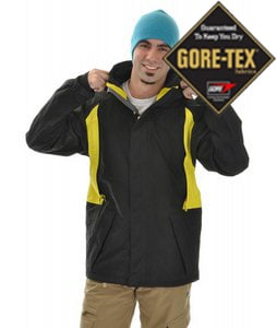 Sessions Shane Mcconckey Snowboard Jacket Black/Citron