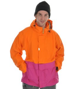 Sessions Anoracket Snowboard Jacket Tang/Pop Pink