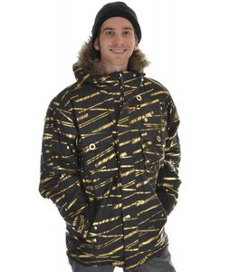 Sessions Premise Snowboard Jacket Black Zip It