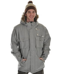 Sessions Premise Snowboard Jacket Silver