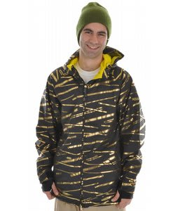 Sessions Fulton Snowboard Jacket Black Zip It
