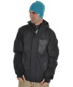 Sessions Ignition Snowboard Jacket Black Magic
