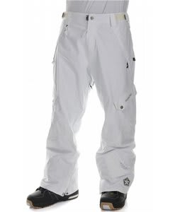 Sessions Gridlock Snowboard Pants Studio White
