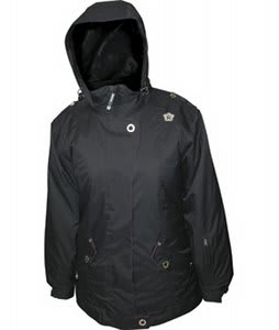 Sessions Fresh Snowboard Jacket Black Magic