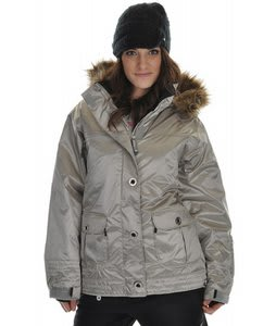Sessions Dynamite Snowboard Jacket Silver