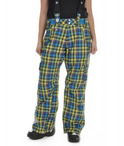 Sessions Division Snowboard Pants Grape Vi Plaid
