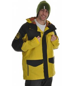 Analog Guidance Snowboard Jacket Yellog