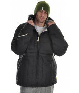 Analog Airlock Down Snowboard Jacket True Black