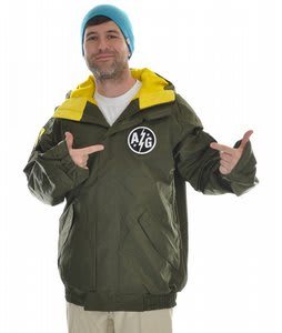 Analog Grumman Snowboard Jacket Olive