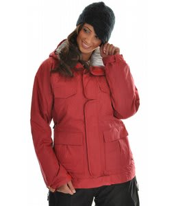 Bonfire Safari 2 Snowboard Jacket Cherry