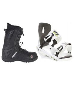 Sapient Stash Snowboard Bindings w/ Sapient Method Snowboard Boots