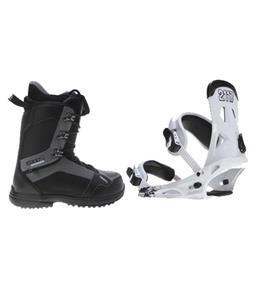 2117 Of Sweden Storm Snowboard Bindings w/ 2117 Holmestad Snowboard Boots