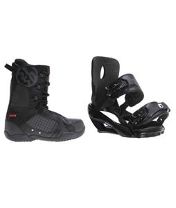 Sapient Wisdom Snowboard Bindings w/ 5150 Squadron Snowboard Boots