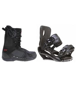 Sapient Fusion Snowboard Bindings w/ 5150 Squadron Snowboard Boots