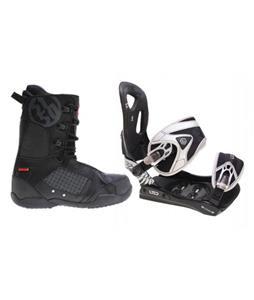 LTD LT35 Snowboard Bindings w/ 5150 Squadron Snowboard Boots