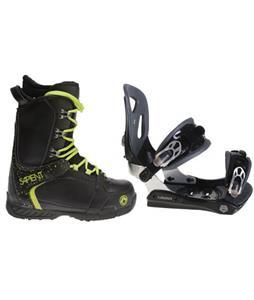 Lamar MX30 Snowboard Bindings w/ Sapient Yeti Snowboard Boots