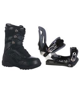 Lamar MX30 Snowboard Bindings w/ Lamar Justice Snowboard Boots