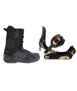 Morrow Invasion Snowboard Bindings w/ 5150 Squadron Snowboard Boots
