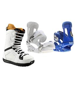 Forum Faction Snowboard Bindings w/ Burton TWC Snowboard Boots