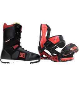 Lamar Wrap Snowboard Bindings w/ DC Super Park Snowboard Boots