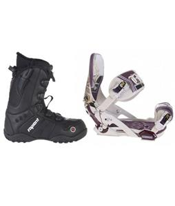 Technine MFM Pro Snowboard Bindings w/ Sapient Method Speed Lace Snowboard Boots