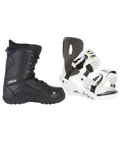 Sapient Stash Snowboard Bindings w/ House Transition Snowboard Boots