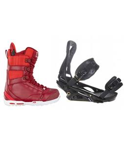 Burton P1.1 Snowboard Bindings w/ Burton Hail Restricted Snowboard Boots