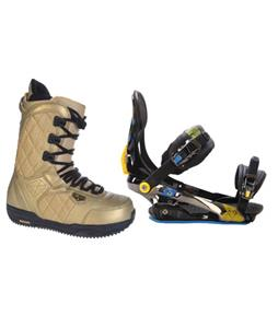 Rome S90 Snowboard Bindings w/ Burton Shaun White Snowboard Boots