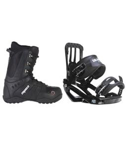 Salomon Pact Snowboard Bindings w/ Sapient Method Snowboard Boots