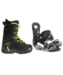 Ride LX Snowboard Bindings w/ Sapient Yeti Snowboard Boots