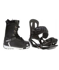 Head NX One Snowboard Bindings w/ Sapient Yeti Snowboard Boots