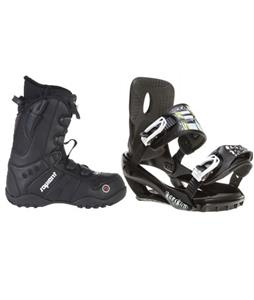 Sapient Stash Snowboard Bindings w/ Sapient Method Speed Lace Snowboard Boots