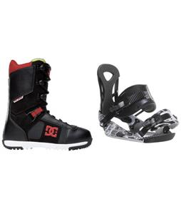 Ride LX Snowboard Bindings w/ DC Super Park Snowboard Boots
