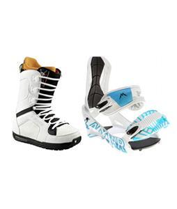 Lamar Wrap Snowboard Bindings w/ Burton TWC Snowboard Boots