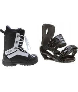 Sapient Stash Snowboard Bindings w/ 2117 Holmestad Snowboard Boots