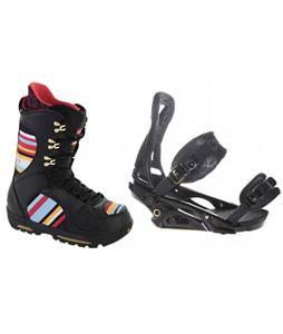 Burton P1.1 Snowboard Bindings w/ Burton Sabbath Snowboard Boots