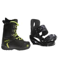 Sapient Wisdom Snowboard Bindings w/ Sapient Yeti Snowboard Boots