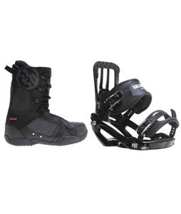 Salomon Pact Snowboard Bindings w/ 5150 Squadron Snowboard Boots