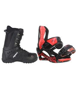 Lamar Wrap Snowboard Bindings w/ Sapient Method Snowboard Boots