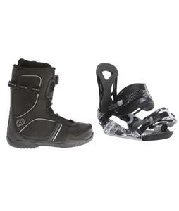 Ride LX Snowboard Bindings w/ Morrow Kick BOA Snowboard Boots