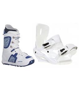 Sapient Zeus Snowboard Bindings w/ Burton Freestyle Snowboard Boots