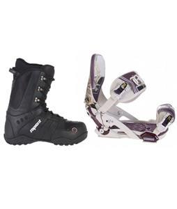 Technine MFM Pro Snowboard Bindings w/ Sapient Method Snowboard Boots