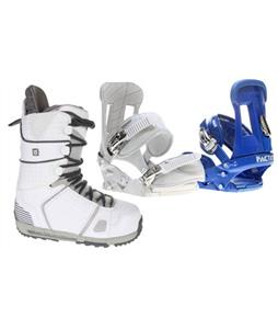 Forum Faction Snowboard Bindings w/ Burton Hail Snowboard Boots